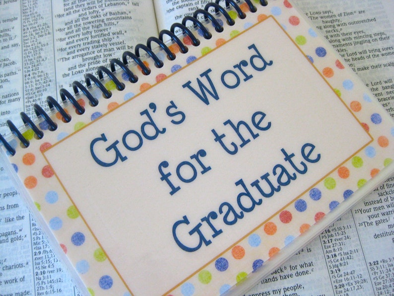 God's Word for the Graduate Laminated Bible Verse Cards image 0