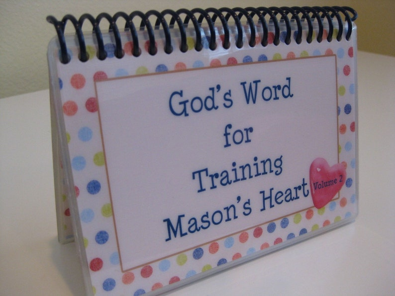 God's Word for Training Your Child's Heart  Volume 2 image 0