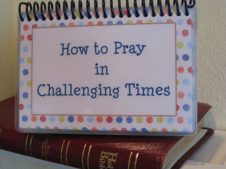How to Pray in Challenging Times Spiral-Bound Laminated image 0