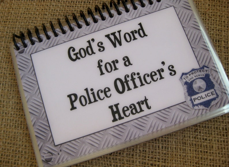 God's Word for a Police Officer's Heart Spiral-Bound image 0