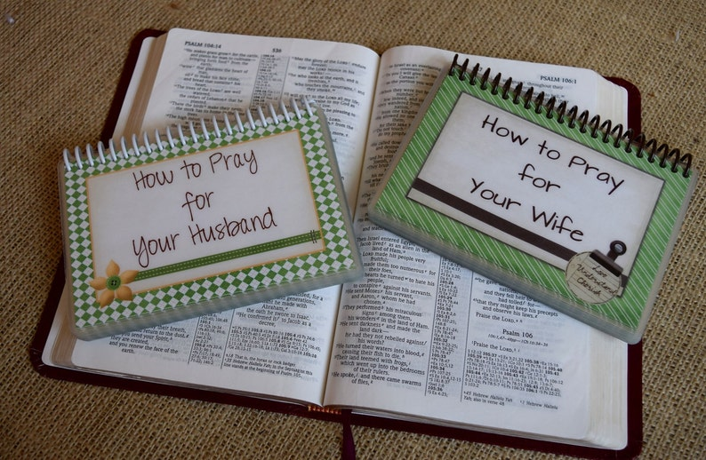 SALE  How to Pray for Your Husband/How to Pray for Your Wife image 0