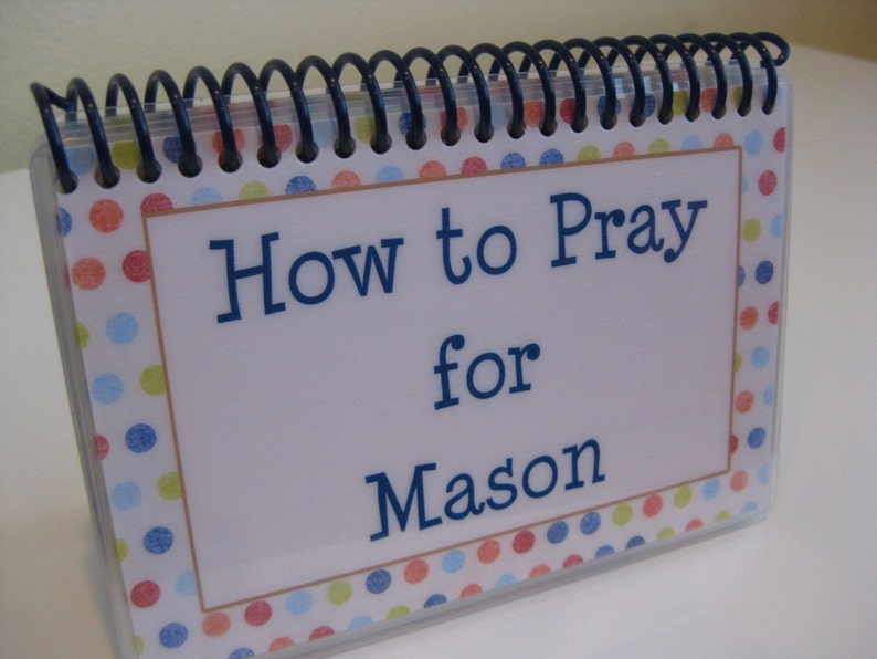 How to Pray for Your Children  PERSONALIZED Set image 0