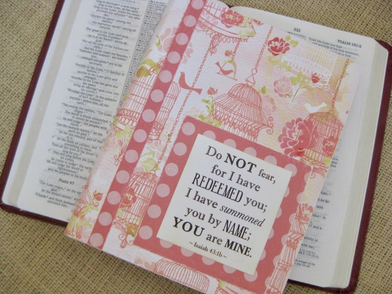 Legacy Prayer Journal Bound Book Pink Birdcages with Pink image 0