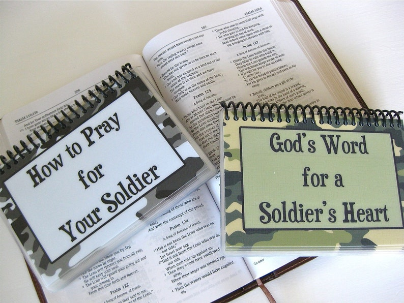 SALE  How to Pray for Your Soldier/God's Word for a image 0