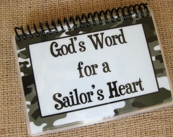 God's Word for a Sailor's Heart, Spiral-Bound, Laminated Bible Verse Cards