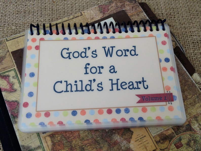 God's Word for a Child's Heart  Volume 2 image 0