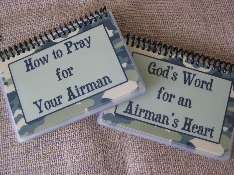 SALE  How to Pray for Your Airman/God's Word for an image 0