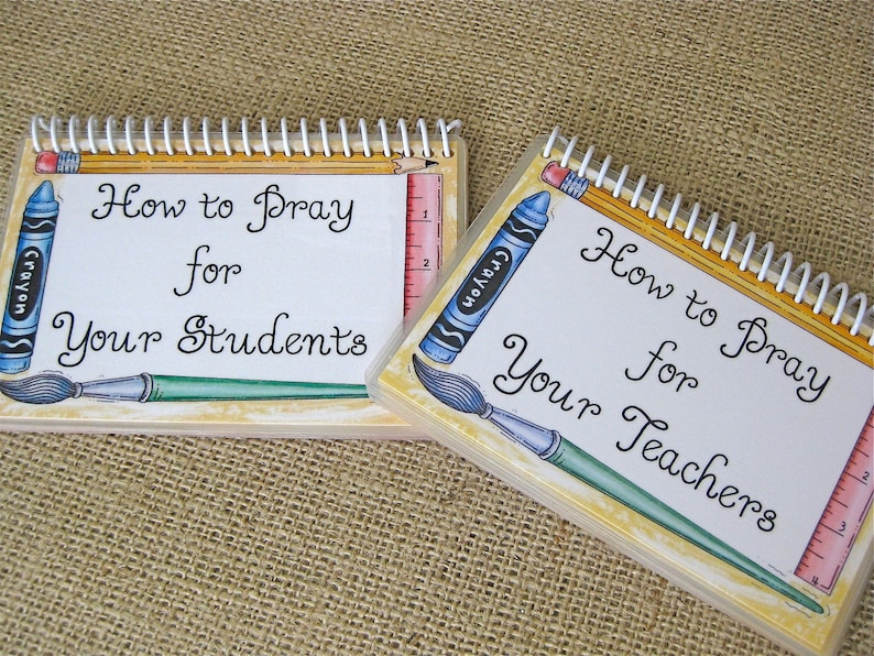 SALE  How to Pray Your Students/How to Pray for Your Teachers image 0