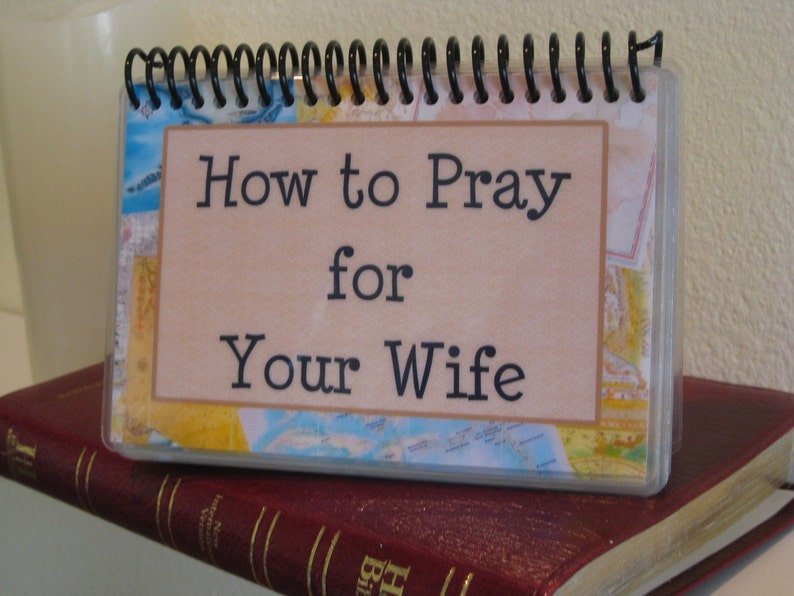 How to Pray for Your Wife, Spiral-Bound, Laminated Prayer Cards