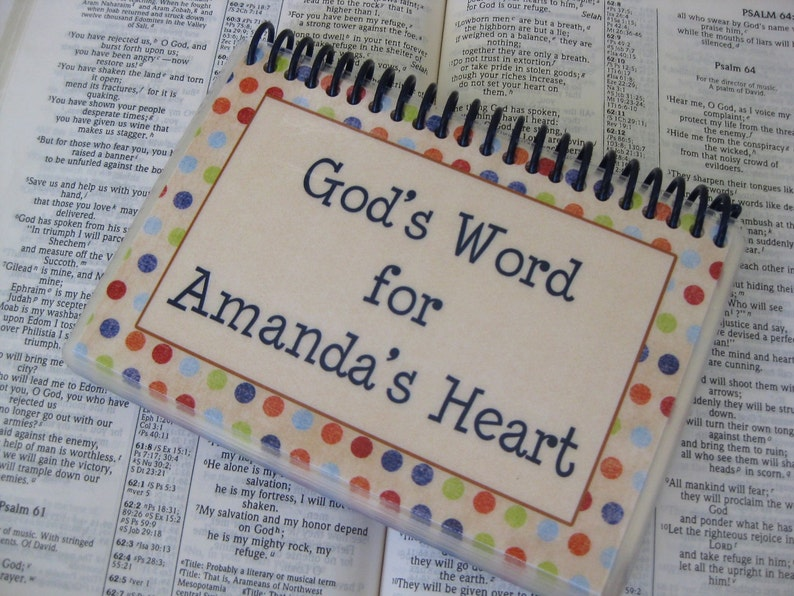 God's Word for an Anxious Heart PERSONALIZED image 0