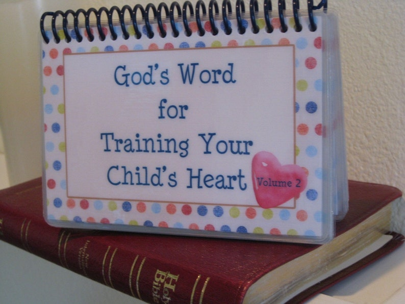 God's Word for Training Your Child's Heart  Volume 2 image 1