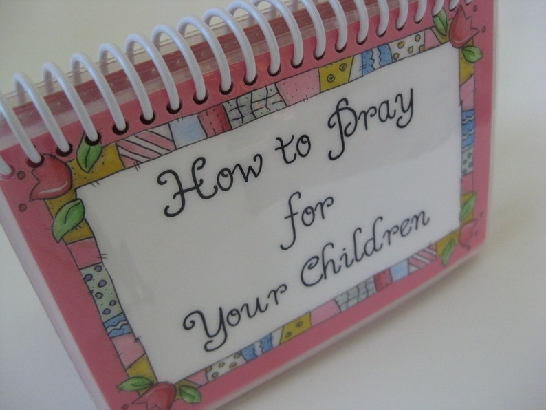 How to Pray for Your Children Spiral-Bound Laminated Prayer image 0