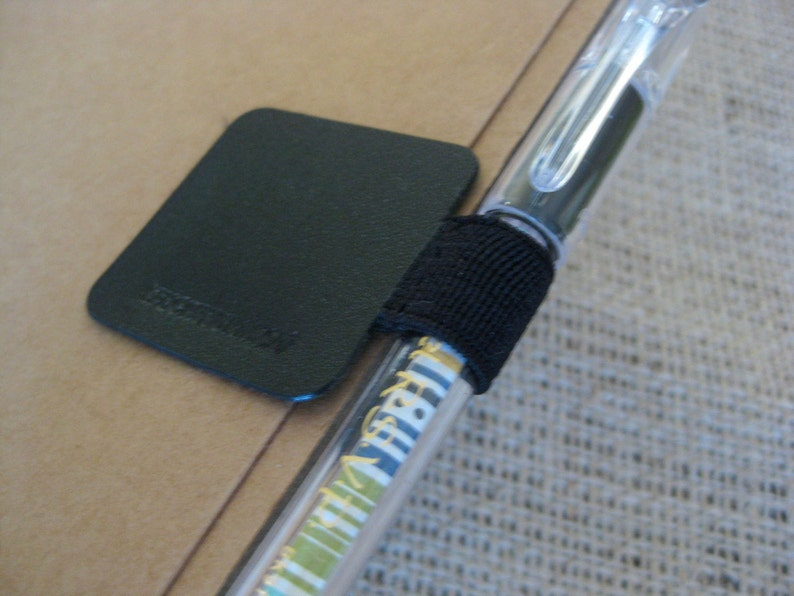 Pen Loop Self-Adhesive Pen/Pencil Holder Attaches to Journal image 0