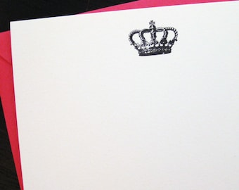 your highness crown notecards