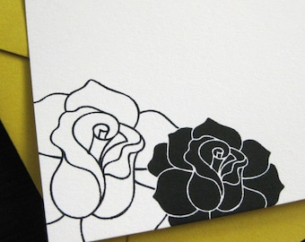 smells like roses notecards