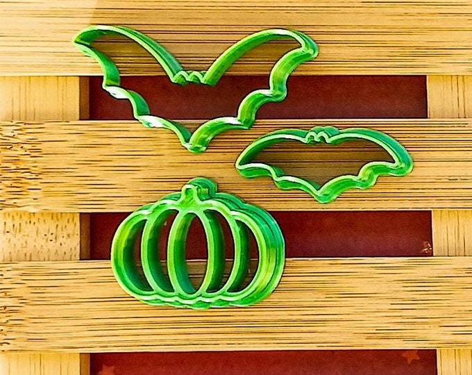 Halloween 3   Polymer Clay Shape Cutters   Set of 3   Clay Tools