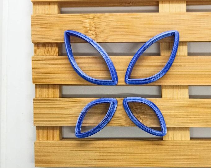 Polymer Clay Shape Cutters   Set of 4   Farfalla   Clay Tools