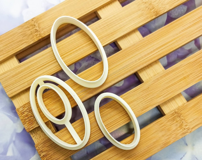 Polymer Clay Shape Cutters | Set of 3 | Ellissi | Clay Tools