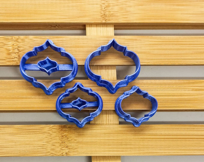 Polymer Clay Shape Cutters | Set of 4 | Aladin 1 | Clay Tools