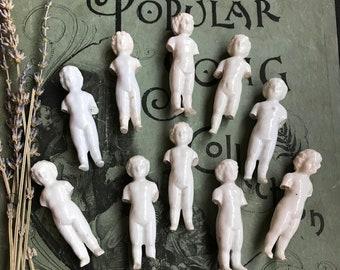 Vintage Frozen Charlotte Doll for Altered Art and Mixed Media Porcelain Dolls Vintage Doll Parts Germany Broken Doll Parts