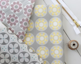 Daisy Collection fabric pack -  Roundel and Daisy Floral fabrics