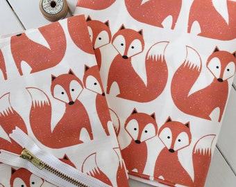 Fox fabric pack -  Rust red fabrics