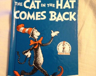 The cat in the hat comes back DR SEUSS BOOK