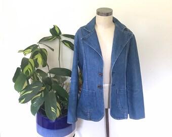 Vintage MAVERICK denim blazer.