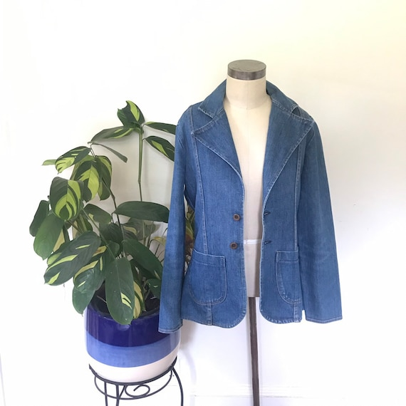 Vintage MAVERICK denim blazer.