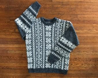 vintage Le Tigre snowflake sweater. L
