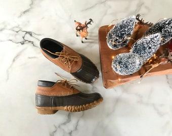 Vintage bean boots. 8