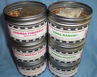 Popcorn, Popcorn Mix, Popcorn Seasoning, Popcorn Gift, Popcorn flavor, Gourmet Popcorn Mix, Popcorn Boxes, Fathers Day, Salt Free, NON-GMO