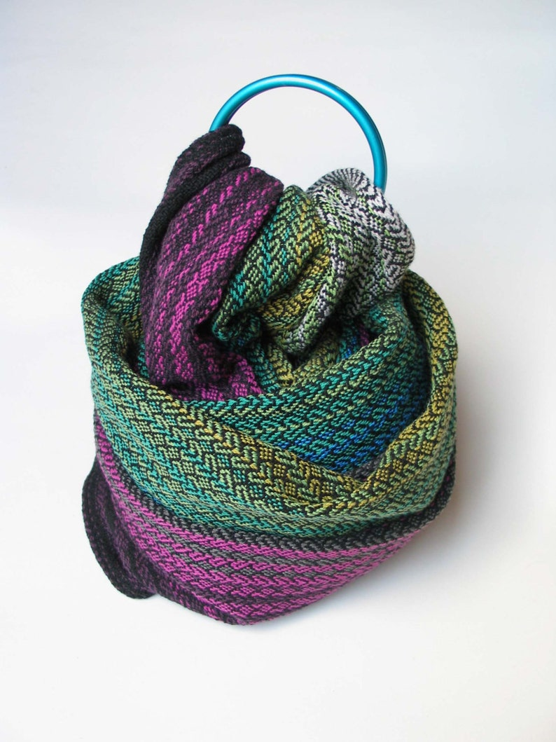 07e49c6b408 Handwoven baby wrap ring sling made to order custom or