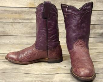 Laramie Cowboy Stiefel Herren Leder Größe 85 eine sehr | Etsy