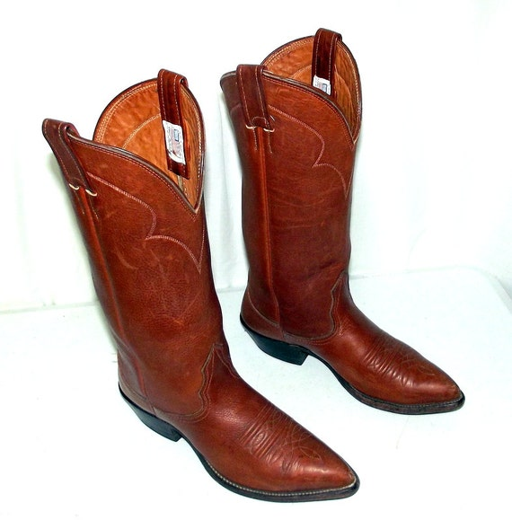 boots Brown cowgirl wide 5 5 C width womens Leather western Cowboy Nocona size AFwt6FUq