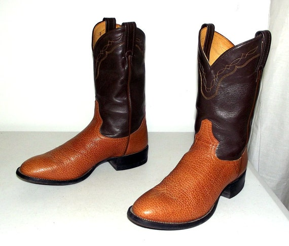 10 size Tony Lama or 8 tone boots size cowboy 5 brown D womens Two xEqWYwnOw