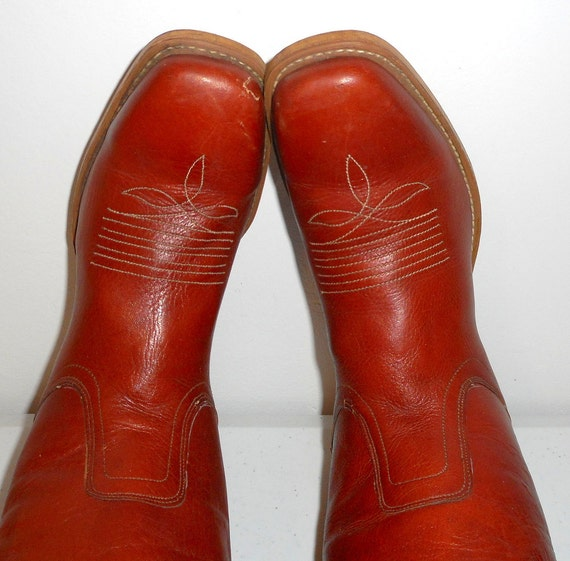 Cowboy Dingo Country Mens Classic D Acme 10 Rockabilly 5 Brown 8 Womens Boots Leather IqxR6X