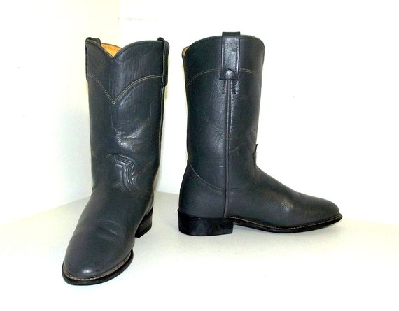 Acme 6 Vintage size in 5 brand Grey M cowgirl boots a Cowboy 5pfparqw