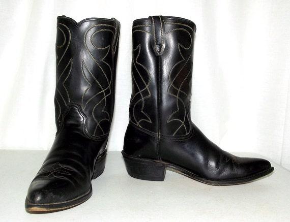 Vintage Rockabilly Western cowboy boots size 9 D or womens  2d7b79842