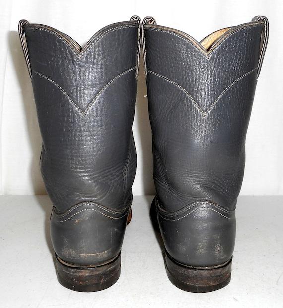 5 8 7 Roper Distressed size Boots womens mens D Boho Grey Cowboy Western Justin nAA1vP