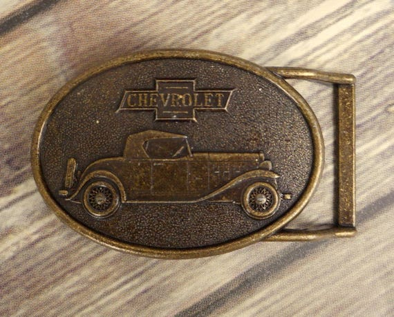 Chevy Belt Buckles >> Chevrolet Belt Buckle Chevy Car Automobile Rjr Brass Color Etsy