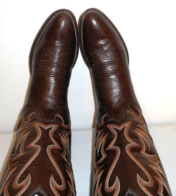 de 5 Mens bottes brun Cowboy Nocona 9 un qzwwS5BIF