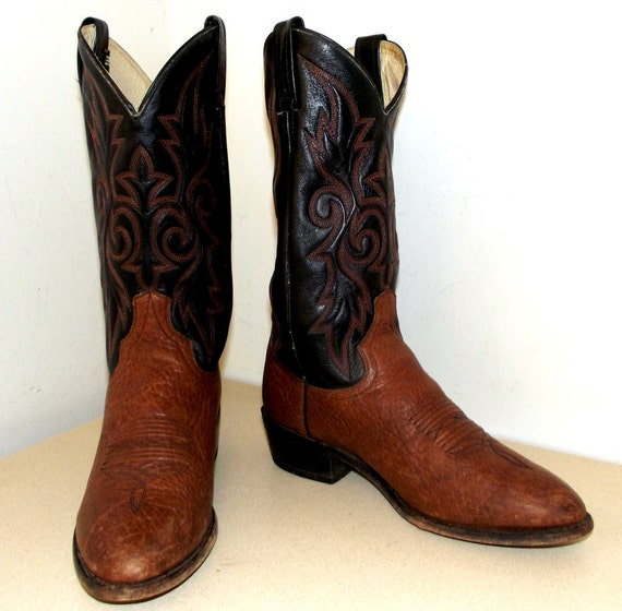 Post Black 5 or size size Boots 11 brown cowgirl 9 and EW Cowboy Dan ggtBq