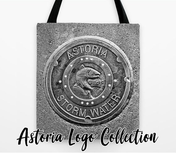 079db33dad Astoria Storm Water Tote Bag Collection urban art Oregon