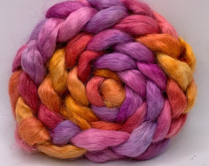 Kid Mohair Combed Top - 5oz - Eagle Claw Cactus Bloom 2