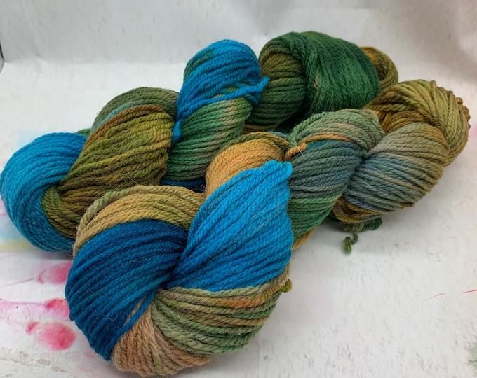 Shetland Aran Yarn 100grams 160 yards - Idaho Agate