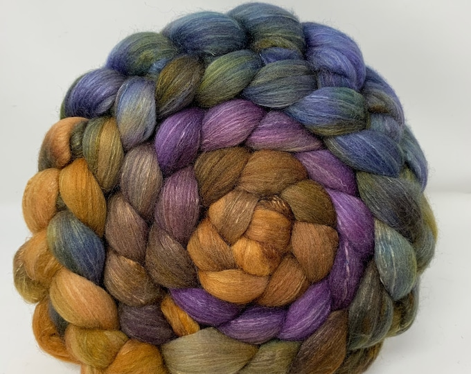 Spinning Fiber Organic Polwarth/Bombyx 80/20, Combed Top - 5oz - Tanglewood 2