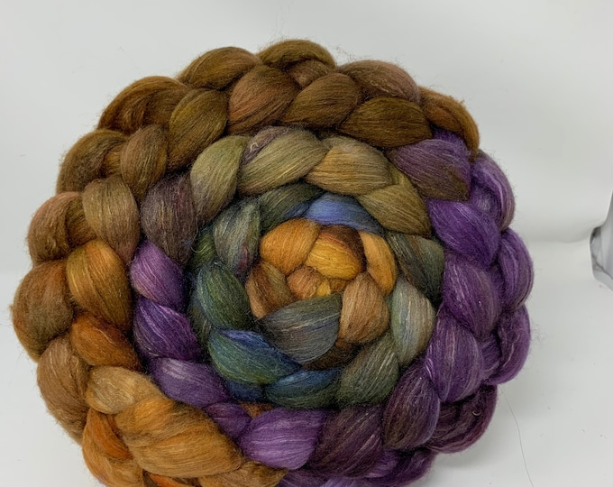 Spinning Fiber Organic Polwarth/Bombyx 80/20, Combed Top - 5oz -Tanglewood 1