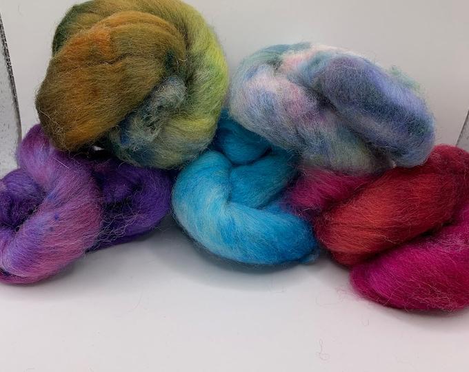 Felting Pack - CorrieX - Hand Dyed - 2.5oz (3)