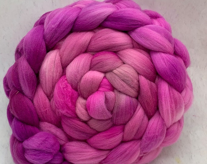 Merino 14.5 Micron Combed Top - 5oz - Orchids 2